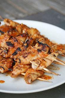 Spicy Grilled Calamari Recipe