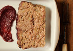 Meatloaf with Blackberry Barbecue Sauce Recipe