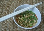 Sesame Noodles with Thai Basil Recipe