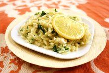 Orzotto with Spring Ramps & Goat Cheese Recipe