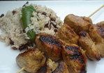 Jerk Chicken Kabobs Recipe