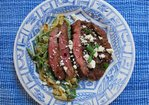 Carne Asada con Rajas Recipe
