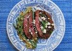 Carne Asada con Rajas Recipe