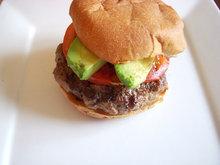 Michael's fabulous burgers with corn flake crumbs Recipe