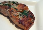 Grilled Salmon with Garlic-Basil Butter for Easy Entertaining Recipe