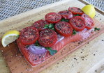 Cedar Plank Grilled Salmon Recipe