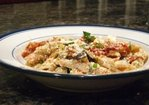 Penne with Roasted Eggplant, Tomatoes and Ricotta Cheese Recipe
