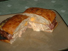 San Ignacio Green Chile Cheeseburger Recipe