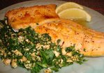 Oven Baked Maple and Citrus Arctic Char with Gremolata Recipe