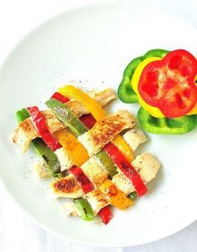 Chicken and Bell Peppers Weave Recipe