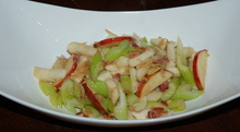 Celery, Turnip, Apple Pan Saute, with Bacon and Other Good Stuff Recipe