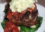 Individual Italian Meatloaves Recipe