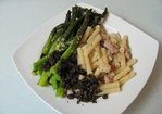 Pasta with tuna and roasted asparagus Recipe