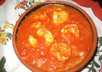 smoky shrimp and artichoke ragout with bucatini Recipe