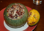 Wild rice-cherry-pecan-stuffed Winter Squash Recipe