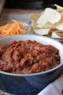 smoky chipotle vegetarian chili Recipe