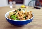 Pasta with broccoli, anchovies, lemon Recipe