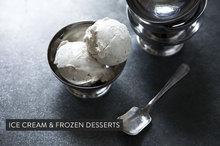 Rhubarb Vanilla Rose Water Ice Cream Recipe