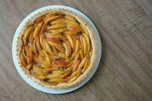 Peach Basil Tart Recipe
