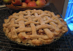 Apple Walnut Custard Pie Recipe