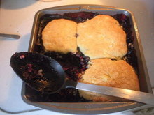 Corny Blueberry Cobbler Recipe