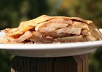 Papa's apple cardamom pie Recipe