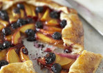 Blueberry & Peach Galette Recipe
