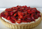 balsamic-macerated strawberry tart with whipped mascarpone filling Recipe