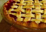 Taste-of-fall cherry pie Recipe
