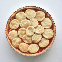 Quince Jelly Tart with Cinnamon Cream Cheese Recipe