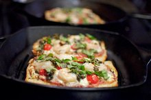 Lazy Greek Pizza with Shrimp Recipe