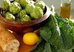 Baby Artichoke & Dinosaur Kale Panzanella Recipe