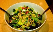 Summer Chopped Salad with Creole Mustard Dressing Recipe