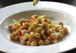 Chickpea or Black-eye Bean Salad with Tuna Recipe
