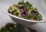 Chopped Broccoli Salad {with Tahini Soy Dressing} Recipe