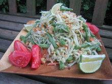 Green Papaya Salad (Som Tam) Recipe