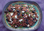 red, white, and blueberry salad Recipe