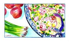 Potato Salad á la Cornwall Recipe
