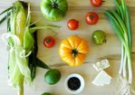 Tomato and Grilled Corn Salad with Smoked Salt Recipe