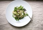 Summer Bean Salad with Fennel, Capers & Lemon Cream Recipe