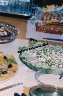 Egg and Cucumber Salads Recipe