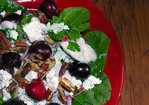 Spinach Summer Cherry Salad Recipe
