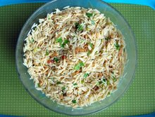 Orzo with Toasted Pine Nuts Recipe