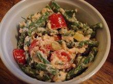 Salmon and haricot vert salad Recipe