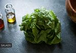 Chopped Summer Vegetables with Lemon/Tahina Dressing Recipe