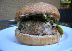 "Italian ""Sausage"" Sandwiches with Spicy Grilled Peppers and Fennel-Onion Mustard Recipe"