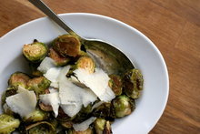 Balsamic Roasted Brussels Sprouts with Mustard Vinaigrette Recipe