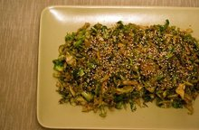 Soy, Ginger and Sesame Brussels Sprouts Recipe