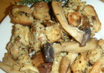 Challah and Wild Mushroom Stuffing With Pancetta Recipe