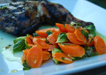 Sauteed Carrots & Brussels Sprouts Recipe